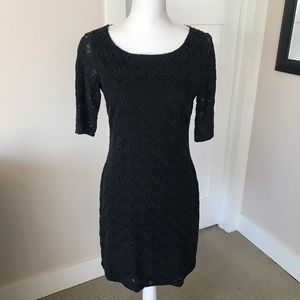 Banana Republic Eyelet Printed Dress, 4